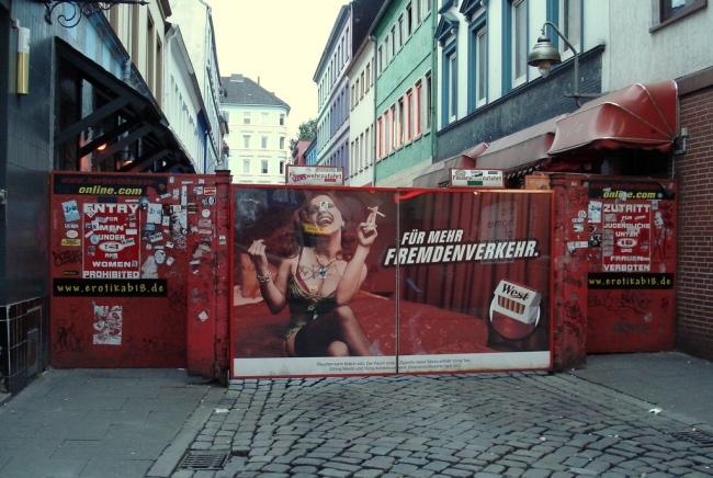 Barrio Rojo de Hamburgo