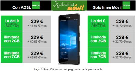 Precios Microsoft Lumia 950 Con Amena