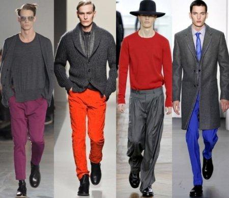 Moda para hombres: a vueltas con el color