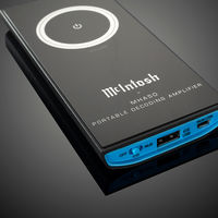 Parece un smartphone, pero en realidad es el nuevo amplificador-DAC portátil de McIntosh