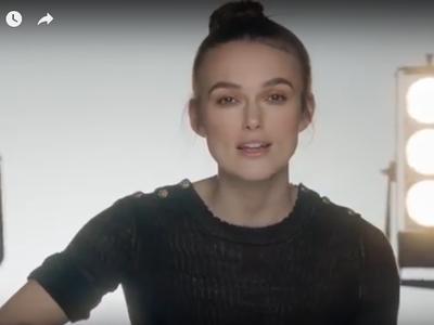 Así canta Keira Knightley para Chanel