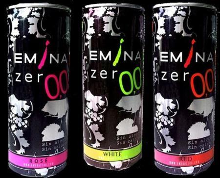 Eminazero, vino sin alcohol y en lata de bodegas Matarromera