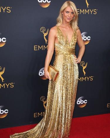 Y de repente llegó ella, Claire Danes, a los Premios Emmy 2016