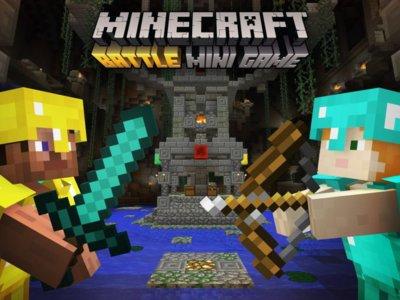 Afila tus armas: llega a Minecraft gratuitamente el modo Batalla