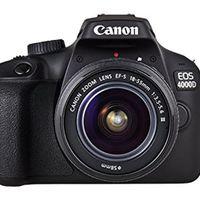 Usando el código PARATECH, en eBay esta semana, tenemos la Canon EOS 4000D con objetivo por sólo 200,45 euros
