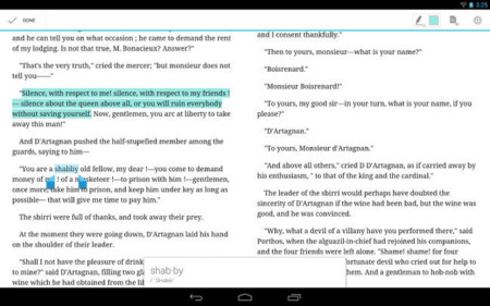 Google Play Books en tableta Android