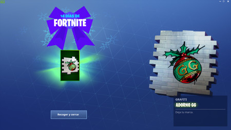 Primer Regalo 14 Dias De Fortnite