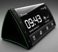 Tres pantallas SuperAMOLED flexibles para el teléfono conceptual Flip phone