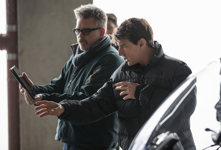 Christopher McQuarrie y Tom Cruise
