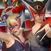 Los luchadores de Dead or Alive se pasan al cosplay con los nuevos trajes de Tatsunoko