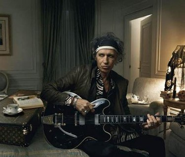 Keith Richards imagen de Louis Vuitton