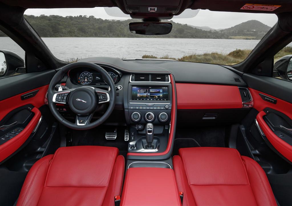 Jaguar E-PACE, prueba contacto