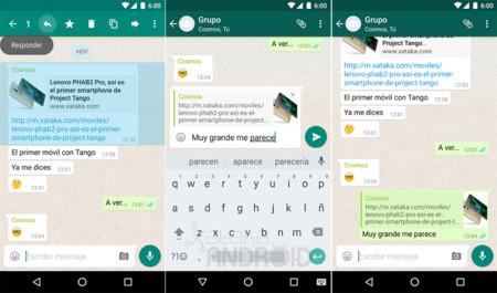 Whatsapp Citar Mensaje