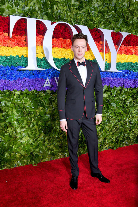 Erich Bergen 73rd Annual Tony Awards Arrivals Red Carpet