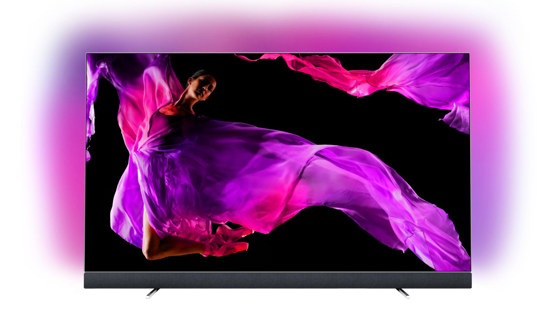 "TV OLED 139 cm (55"") Philips 55OLED903/12 UHD 4K con Android TV y Ambilight en 3 lados"
