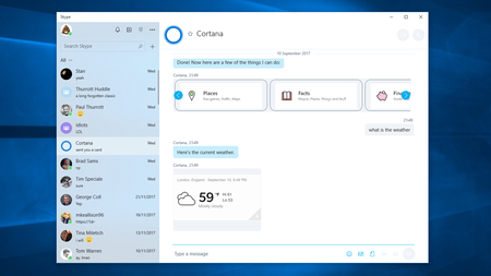 Skype Windows 10