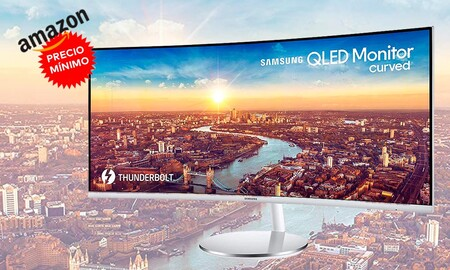 El elegante monitor ultrawide Samsung C34J791 a precio mínimo ahora en Amazon cuesta 594,99 euros con 130 de rebaja