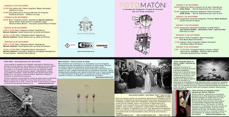 Programas Festival Fotomatón 2017