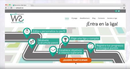 Walk Spain: un juego on-line en el que cada paso cuenta y te premia por mantenerte activo