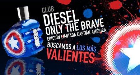 Nuevo Club en Mensencia: DIESEL te regala su edición limitada Only the Brave Capitán América