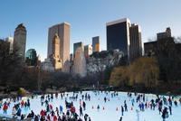 Dónde patinar sobre hielo en Nueva York