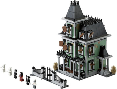The Haunted House by Lego: te encantará conocerla