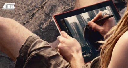Atmel maxTouch crece hasta las 15 pulgadas para entrar en el mercado de las tablets