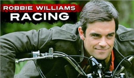 'Robbie Williams Racing'. Sí, habéis oído bien