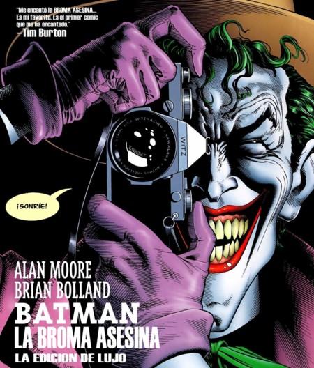 Portada del cómic Batman: La Broma Asesina