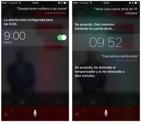 Siri Reloj