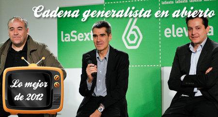 Lo mejor de 2012: las tres mejores cadenas generalistas en abierto
