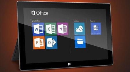 Office 2013 RT está especialmente diseñado para mimar la batería