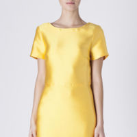 Vestido Amarilo Suiteblanco Brillo