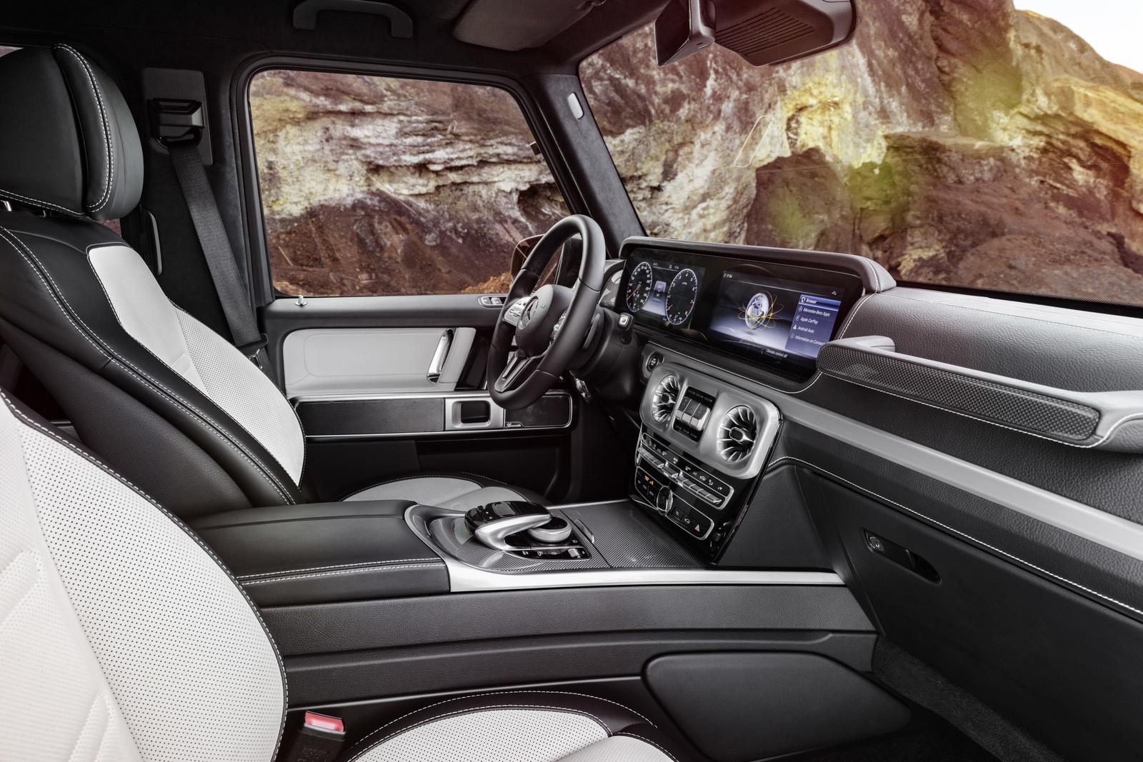 Foto de Mercedes-Benz Clase G 2018 - Interior (7/10)