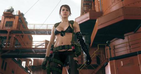Quiet se incluirá en Metal Gear Online con el próximo DLC que llegará en marzo