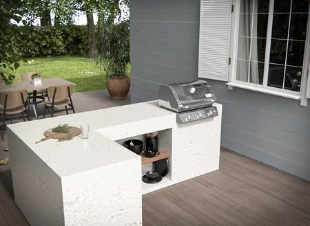 Dekton Nilium Outdoor Kitchen