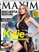 Si Kylie Minogue estuviese más buena en la portada de Maxim, me la comería