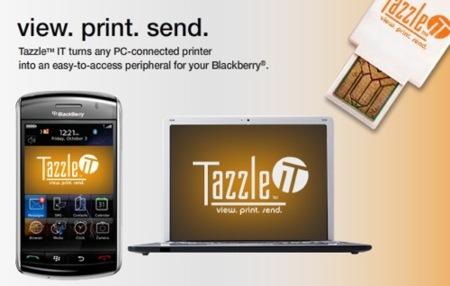 TazzleIT, convierte el ordenador en un periférico de la BlackBerry