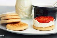 Receta de mini tartas de queso