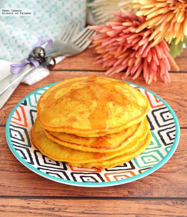 Hot Cakes de Camote. Receta para el Día de las Madres