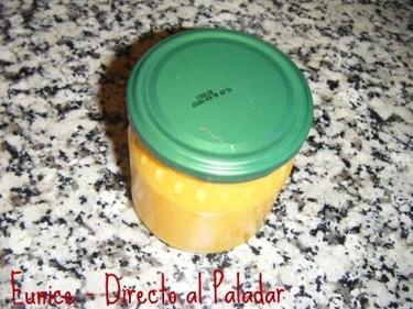 Mermelada de cítricos (naranja, mandarina y pomelo)