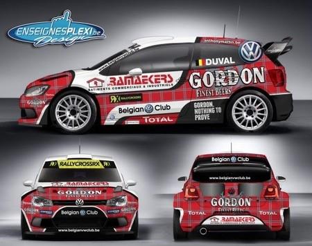François Duval competirá con Volkswagen en el Mundial de RallyCross