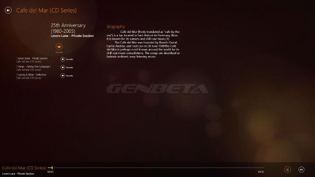 VLC para Windows 8, reproductor de audio
