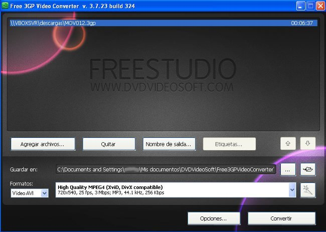 FreeStudio Vídeo