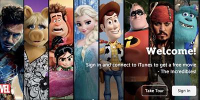 Disney integra el catálogo de sus películas en la iTunes Store dentro de su propia aplicación para iOS