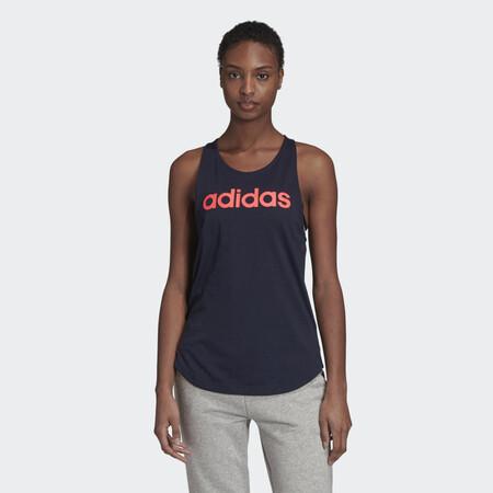 Camiseta De Tirantes Essentials Linear Azul Gd4924 21 Model