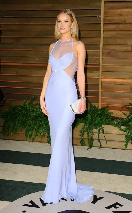 Rosie Huntington-Whiteley look oscar 2014 Vanity Fair