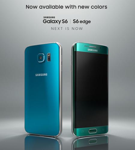Samsung prepara nuevos colores para el Samsung Galaxy S6 y Galaxy S6 Edge