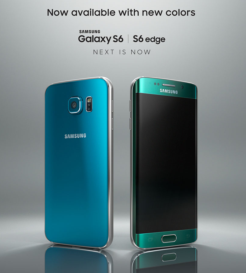 samsung prepara nuevos colores para el samsung galaxy s6 y. Black Bedroom Furniture Sets. Home Design Ideas