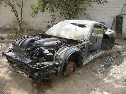 Galer a de coches cl sicos abandonados - Clasico para restaurar ...